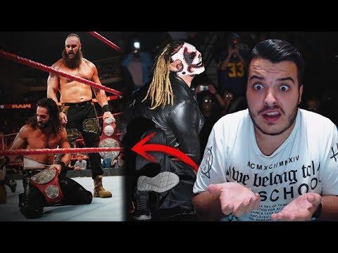 ROLLINS y STROWMAN NUEVOS CAMPEONES | WWE RAW 19/08/19 REVIEW