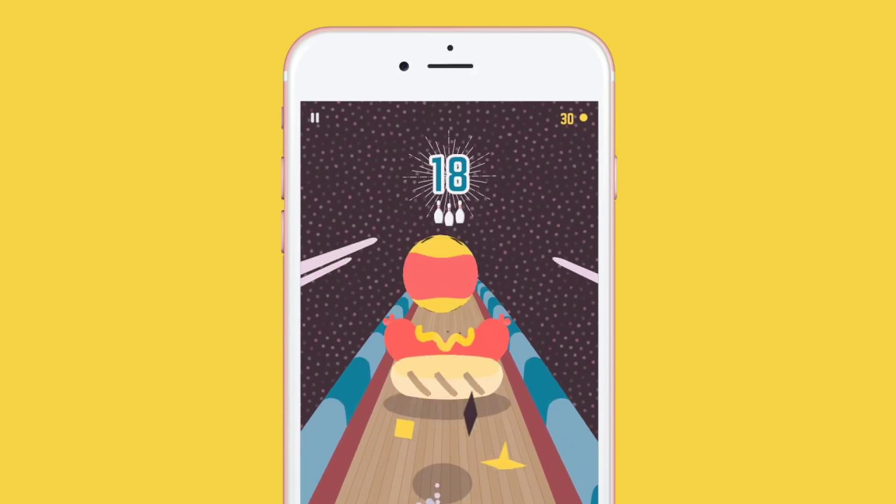 'Kingpin Bowling', an Endless Arcade Bowler from The Frosty Pop Corps, Is Rolling onto the App Store in March