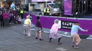 "Video ""The Dancing Grannies"" strut their stuff in Stafford MP3, 3GP, MP4, WEBM, AVI, FLV Agustus 2019"
