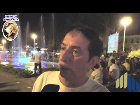 Festa de Santa Rita 2014 em Cataguases - Entrevistas