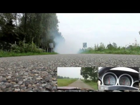 600HP Magnum driving experience & burnout