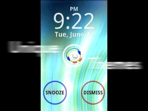 Video of touchAlarm: Fun Alarm Clock