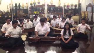 ICTM Thailand Chulalongkorn University - Thailand Music Lesson (Wong Mahoree)