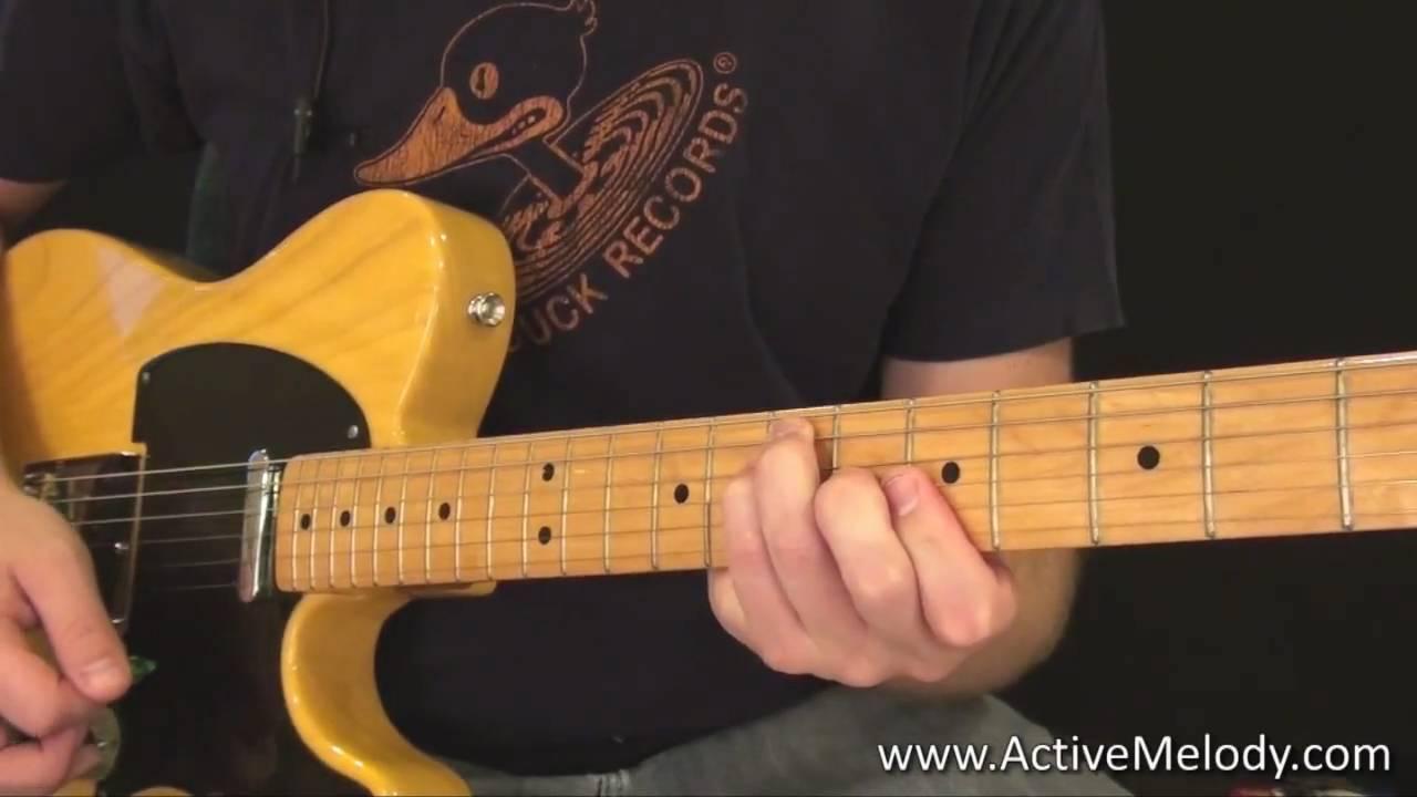 Keith Richards Rhythm Guitar Lesson