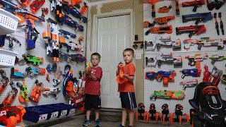 Video Nerf War:  The Arsenal MP3, 3GP, MP4, WEBM, AVI, FLV Februari 2019
