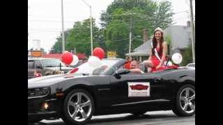 Chatham (ON) Canada  city images : Miss Teen Chatham Kent-World 2013 - Canada Day Parade