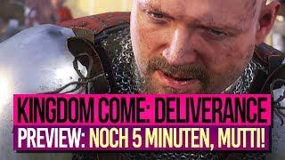 KINGDOM COME: DELIVERANCE • Preview 4: Dinge, die wir NOCH NICHT zeigen durften •