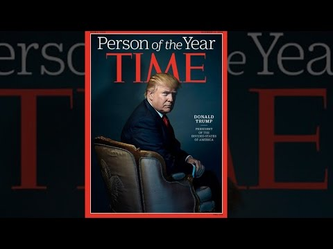 Donald Trump Named TIME Magazine's 'Person Of The Year'
