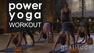 Video Full Body Power Yoga Workout  🙏  Gratitude MP3, 3GP, MP4, WEBM, AVI, FLV Maret 2018