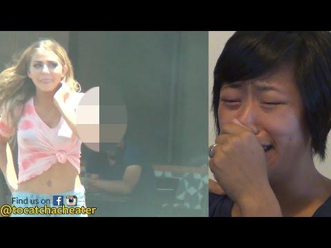 亞裔老婆想知道美國丈夫會不會趁她出差劈腿,節目找來「金髮辣妹」測試後…結局令她崩潰了!