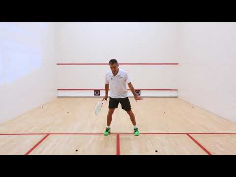 Squash coaching: Split step mechanics with Thierry Lincou