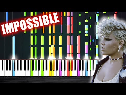 P!nk - What About Us - IMPOSSIBLE PIANO by PlutaX - Thời lượng: 2:53.