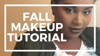Fall Beauty Makeup Tutorial