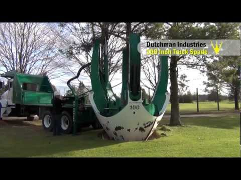 This Machine That Digs Up Entire Trees