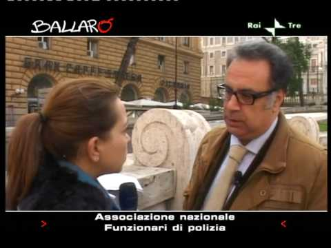 Intervento del Segretario Enzo Letizia a 'Ballarò' 02/12/2009