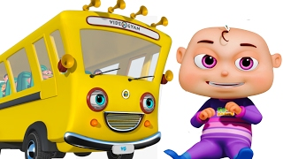 Video Wheels On The Bus With Five Little Babies | Nursery Rhymes Compilation | Zool Babies Fun Songs MP3, 3GP, MP4, WEBM, AVI, FLV Maret 2019