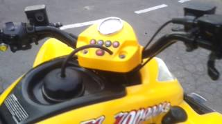 7. KYMKO MANGOOSE 250cc