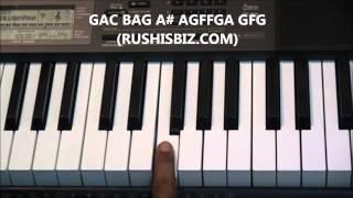 Kal Ho Naa Ho Full Song ......Piano Notes - Tutorials
