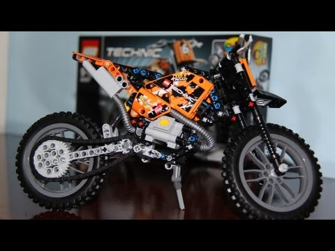 Конструктор LEGO Technic 42007 Кроссовый мотоцикл