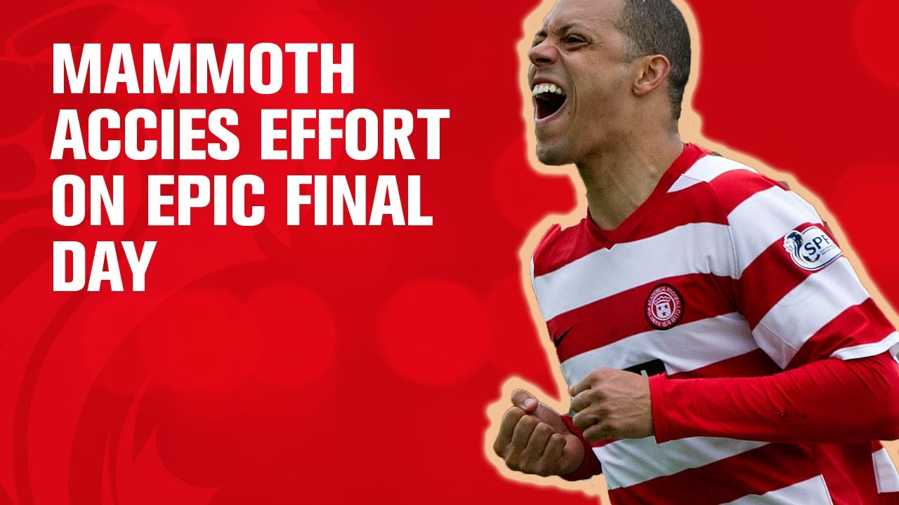 Mammoth Accies effort on epic final day