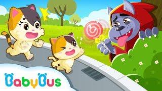 Download Video Kitten Mimi, Don't Go with Strangers   Kids Safety Tips   Kids Cartoon   Baby Cartoon   BabyBus MP3 3GP MP4