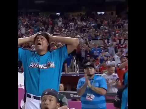 EVERY AARON JUDGE 500+ FT HOME RUN DURING HOME RUN DERBY 2017 (BEST HOME RUN DERBY PERFORMANCE EVER)