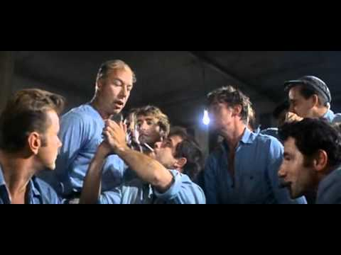 Classic Poker Scenes - Cool Hand Luke with Paul Newman - Keep comin' back with nothin'.avi