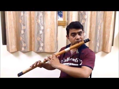 Video Teri Bindiya Re   - Flute By Girish Kale download in MP3, 3GP, MP4, WEBM, AVI, FLV January 2017