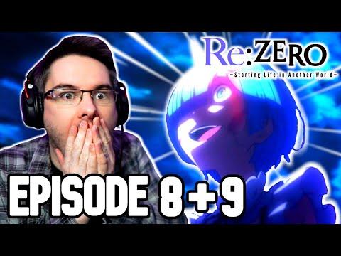 Re:ZERO Season 1 Episode 8 & 9 REACTION | Anime Reaction
