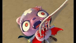 Video Zombie animation: A Zombie's Horns Go Soft - Mad Box Zombies MP3, 3GP, MP4, WEBM, AVI, FLV Maret 2018