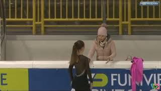 Chantal Civita 1 gara Nazionale Elite Advanced Novice Pinzolo 2018 (FP)