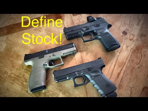 CZ P-10 C VS Sig Sauer P320 VS Glock 19 - How Do You Define A Stock Firearm?