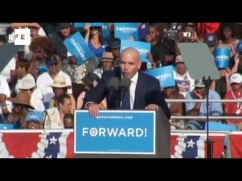 Pitbull (rapper) - Cuban-American rapper Pitbull threw his support behind President Barack Obama during a campaign rally in South Florida at the weekend ahead of Tuesday's pres...