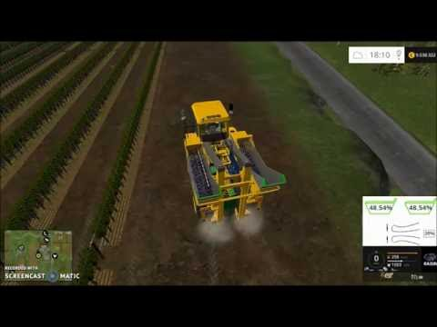 Gregoire G8.260 Grape harvester v0.96