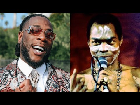 Burna Boy rejects comparison with Fela