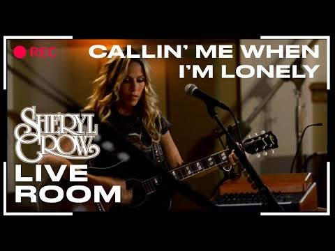 """Sheryl Crow – """"Callin' Me When I'm Lonely"""" captured in The Live Room"""