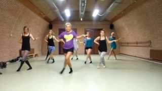 PUUR by Dinne Groothuis Christina Aguilera The Beautiful People Jazz Choreography