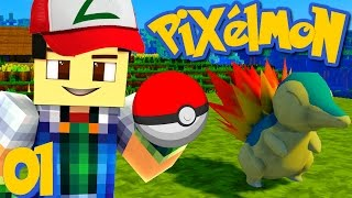 Video EN AVANT POUR L'AVENTURE POKÉMON ! | Pixelmon ! #1 MP3, 3GP, MP4, WEBM, AVI, FLV Juni 2017