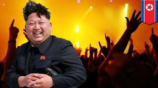 PYONGYANG, NORTH KOREA — Kim Jong Un threw himself a pop concert last Sunday to celebrate their first successful ICBM launch. The musical event was packed with military personnel and the best synchronized group clappers available. Who needs Beyonce or the Biebs when you have Moranbong Band, the all female NK-pop band hand-picked by Dear Leader himself?   Moranbong performed their global smash hits 'Song of Hwasong Rocket' and 'Make Others Envy Us', which are available on iTunes and Spotify. And just when we thought he'd executed her, his wife Ri Sol Ju showed up at the concert too.   Whatever Trump is doing to isolate Kim and North Korea, it's working tremendously. Most importantly, we should thank China for all their hard work behind the scenes — without them — none of this would have been possible.-------------------------------------------------------------Go to https://www.patreon.com/tomonews and become a Patron now TomoNews is now on Patreon and we've got some cool perks for our hardcore fans.TomoNews is your best source for real news. We cover the funniest, craziest and most talked-about stories on the internet. Our tone is irreverent and unapologetic. If you're laughing, we're laughing. If you're outraged, we're outraged. We tell it like it is. And because we can animate stories, TomoNews brings you news like you've never seen before.Visit our official website for all the latest, uncensored videos: http://us.tomonews.comCheck out our Android app: http://bit.ly/1rddhCjCheck out our iOS app: http://bit.ly/1gO3z1fGet top stories delivered to your inbox everyday: http://bit.ly/tomo-newsletterSee a story that should be animated? Tell us about it! Suggest a story here: http://bit.ly/suggest-tomonewsStay connected with us here:Facebook http://www.facebook.com/TomoNewsUSTwitter @tomonewsus http://www.twitter.com/TomoNewsUSGoogle+ http://plus.google.com/+TomoNewsUS/Instagram @tomonewsus http://instagram.com/tomonewsus