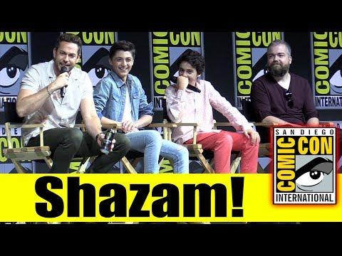 Shazam! | Comic Con 2018 Full Panel