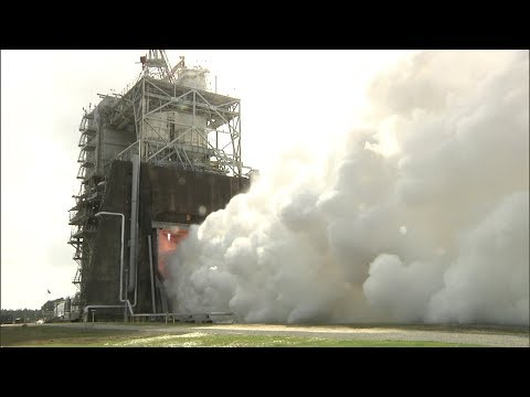 RS-25 Engines Powered to Highest Level Ever During Stennis Test_Best spacecraft videos of the week