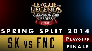 LCS EU Spring Split 2014 - SK vs FNC - Finale - Game 3