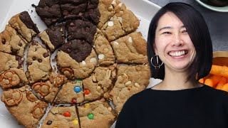 How To Make A Multi-Flavor Skillet Cookie Recipe With Rie • Tasty by Tasty