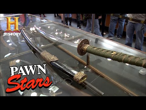 Pawn Stars: RARE KATANA WORTH UP TO $1 MILLION (Season 8) | History