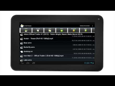RCA Tablets   USB Drive and SD Operation On Your RCA Tablet (Android 4 1)