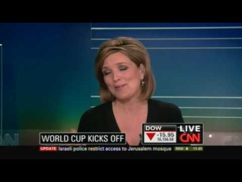 CNN Anchor says US Has Better Sports Than World Cup! blooper