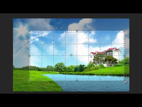دورة فوتوشوب 13 photoshop cs6 الدرس الخامس 5 أدوات التقطيع crop tool ...