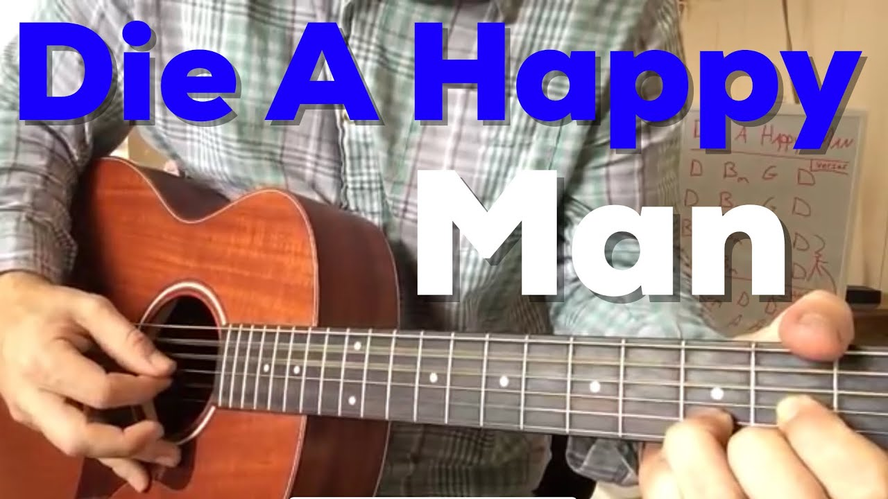 """Die a Happy Man"" – Thomas Rhett (Beginner Guitar Lesson)"