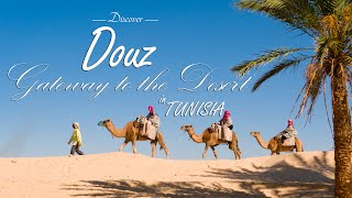 Douz Tunisia  city photos : Douz: Gateway to the desert in Tunisia | Discovering [ full HD 1080p]