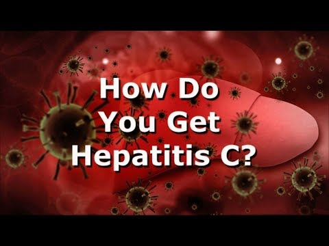 How Do You Get Hepatitis C?